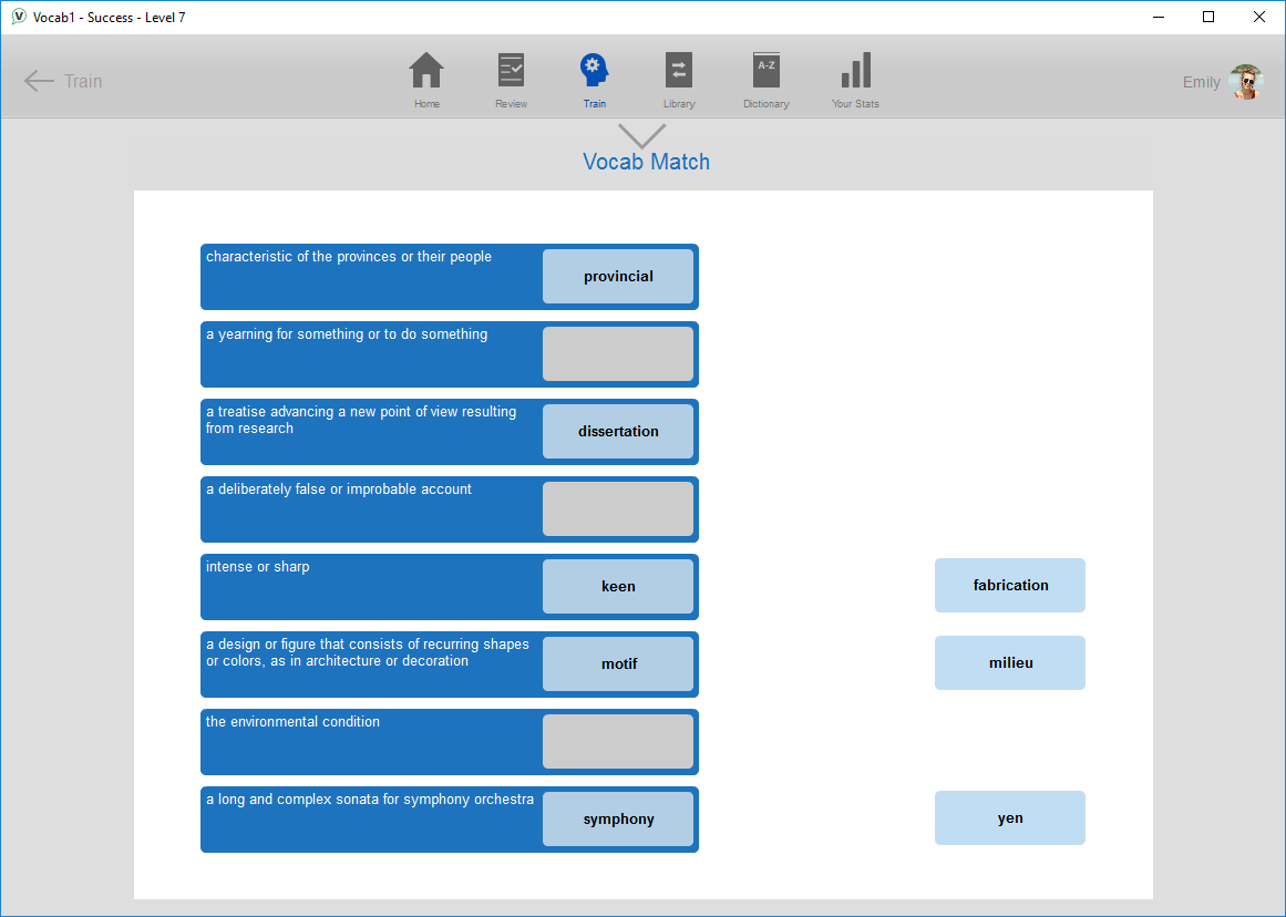 Vocab1 – Vocabulary Building Software |