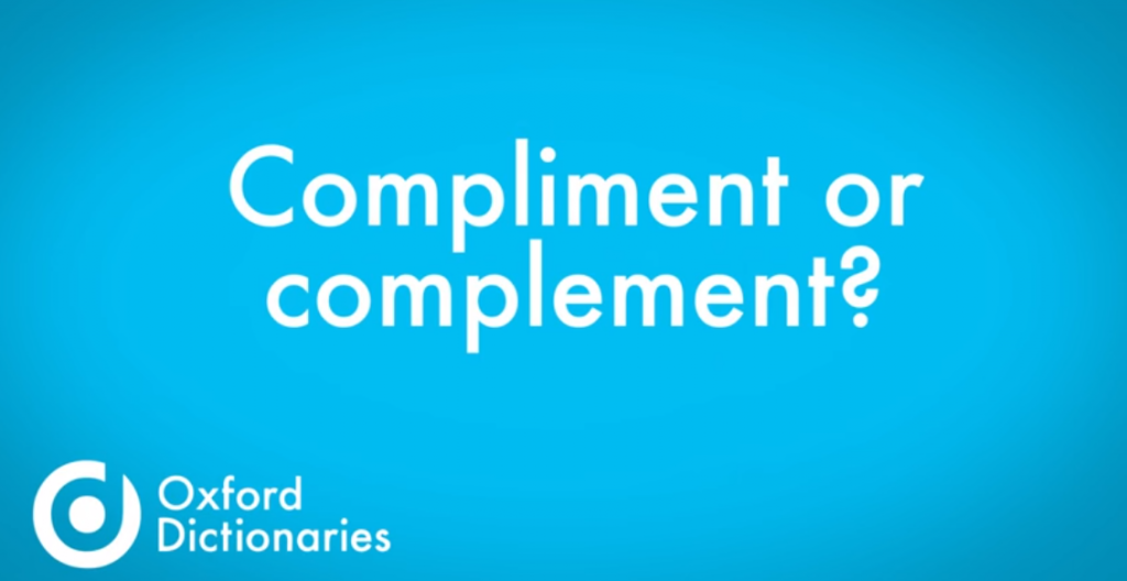 Compliment vs Complement: Know The Difference Now